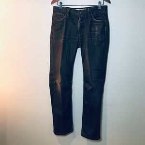 Guess Lincoln Brown Straight Leg Size 31